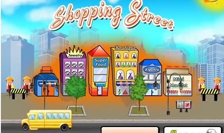بازی آنلاین شهرسازی خیابان فروش shopping street