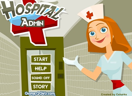 بازی آنلاین مرحله ای مدیریت بیمارستان hospital admin