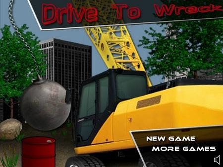 بازی رانندگی ماشین -کامیون نابودگر drive wreck