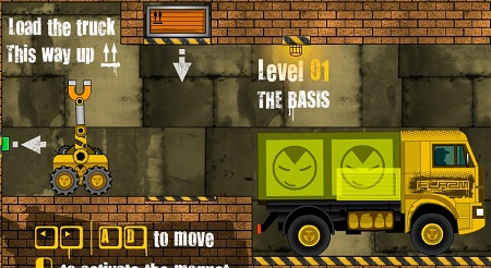 بازی آنلاین چیدمان بار در کامیون باربریtruck loader 3