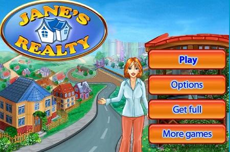 بازی آنلاین مدیریت شهرو شهر سازی :دارایی های جین  Jane's Realty