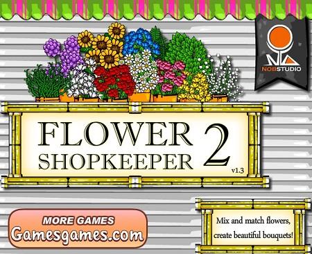 بازی مدیریتی آنلاین: فروشندگان گل 2 Flower Shopkeeper