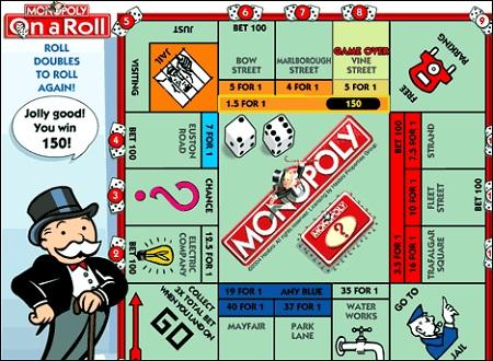 بازی با تاس آنلاین مونوپولی و روپولی  monopoly