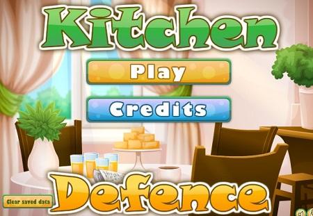 بازی سرگرم کننده کودکان محافظت از آشپزخانه Kitchen