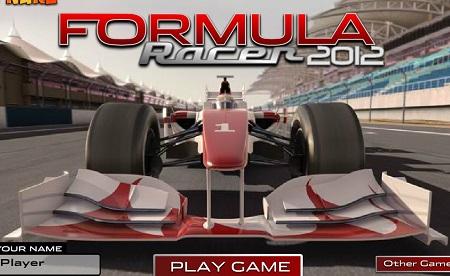 بازی آنلاین فرمول یک Formula Racer 2012
