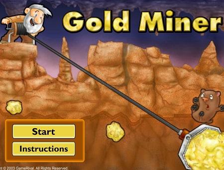 بازی آنلاین شکارچی طلا Gold Miner