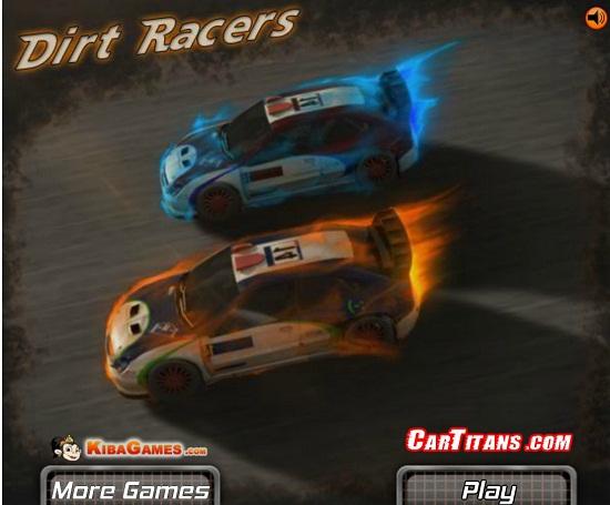 بازی آنلاین ماشین سواری dirt car