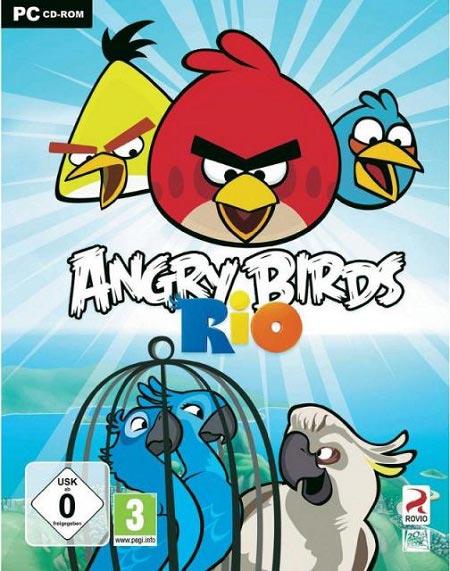 بازی موبایل اندروید :پرندگان خشمگین ریوRovio Angry Birds Rio