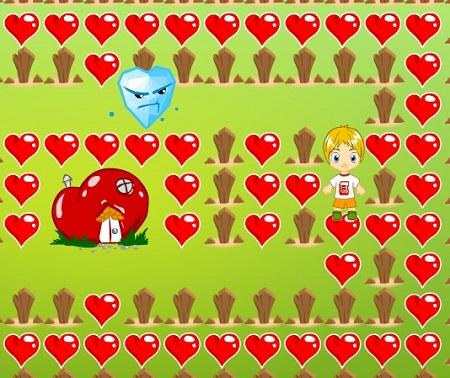 بازی سرگرم کننده وعاشقانه آنلاین شکار قلب های ولنتابن valentines heart sneak