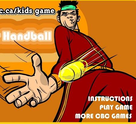 بازی آنلاین سوپر هندبال Super Handball