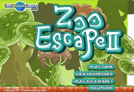 دانلود بازی آنلاین فرار از باغ وحش zoo 2