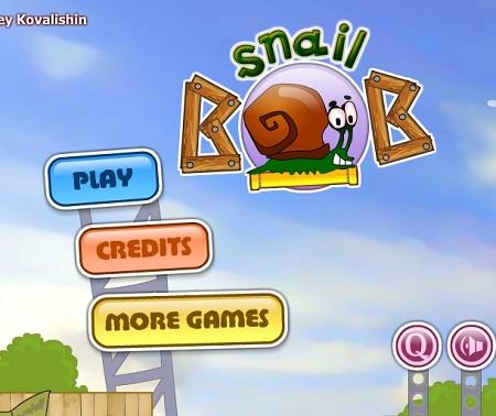 بازی مسیر حلزون ها 1 - Snail Bob
