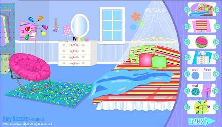 بازی چیدن وسائل خانه :تزیین اتاق خواب Dream bedroom makeover