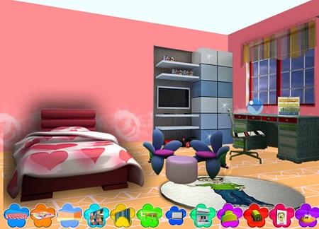 بازی آنلاین چیدن وسائل خانه دوست داشتنی من Lovely Home Decor