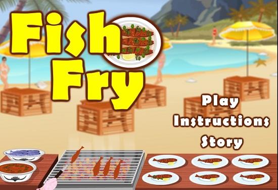 دانلود بازی آشپزی کم حجم ماهی سرخ کردن
