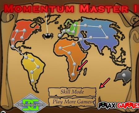 بازی تازه و متفاوت عنکبوت ها :حرکت برتر 2 spider Momentum Master