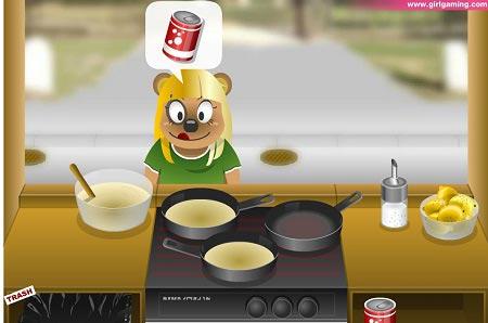 بازی دخترانه آنلاین خرس گرسنه hungry bears