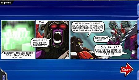 بازی آنلاین تبدیل شوندگان Transformers Univers