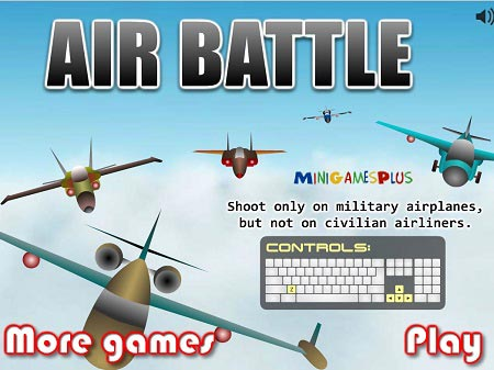 بازی آنلاین جنگ هوایی Air Battle