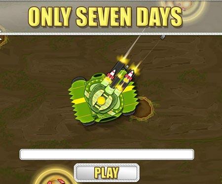 بازی جنگ تانک ها : فقط هفت روز Only Seven Days