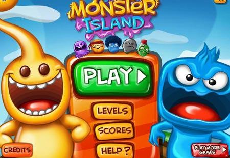 بازی سرگرم کننده وجذاب جزیره هیولاها monster island