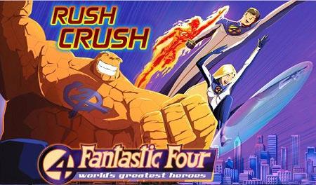 بازی آنلاین دفاع از شهر چهار شگفت انگیز the fantastic four rush crush