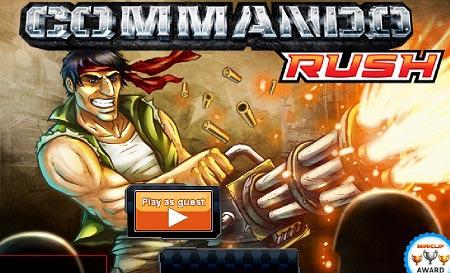 بازی اکشن - حمله کماندو ها commando rush