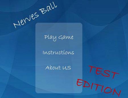 بازی انلاین تمرکز اعصاب : راهنمایی توپ Nerves Ball Test
