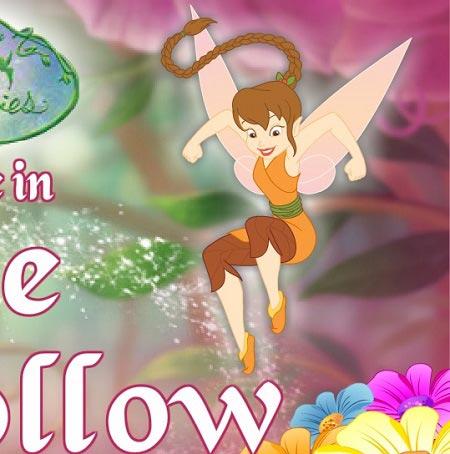 بازی مرحله ای تینکربل  Tinkerbell Trouble In Pixie Hollow