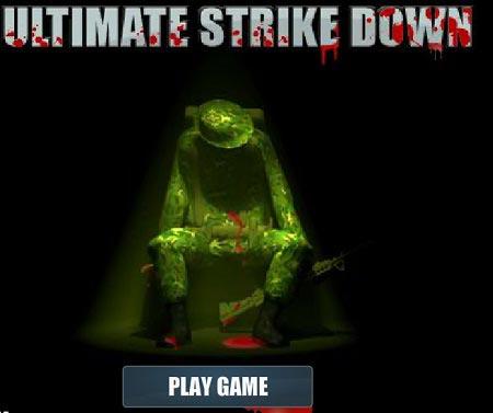 بازی تیر اندازی و کماندویی  ultimate strike down