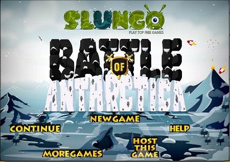 بازی دفاع از قلعه برفی :نبرد قطب جنوب battle of antarctica