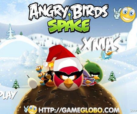 بازی فضای پرندگان خشمگین angry birds space