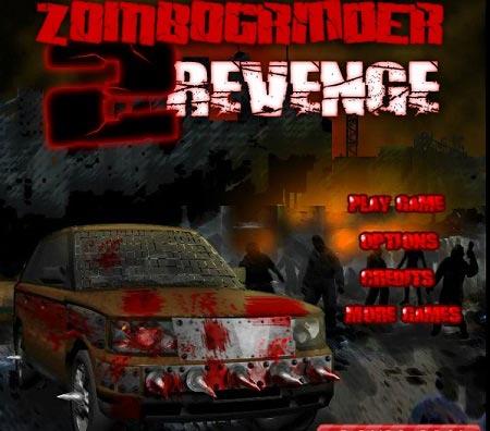 بازی انتقام از زامبی ها zombogrinder revenge