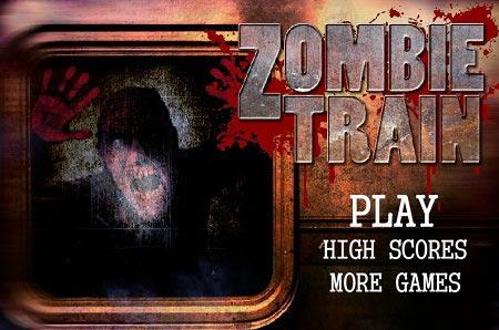 بازی آنلاین و با کیفیت قطار زامبی ها zombie train
