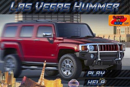 بازی رانندگی با ماشین شاسی بلند در لاس وگاس las vegas hummer