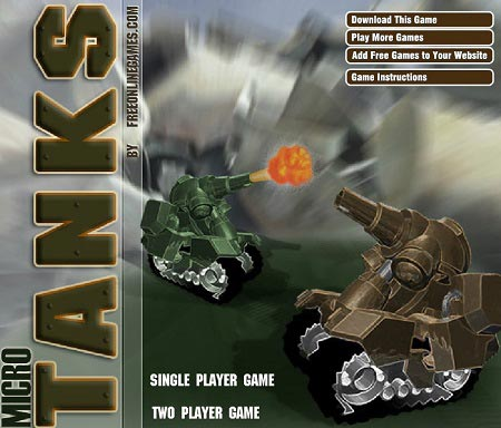 بازی آنلاین شبیه به تانک میکرو