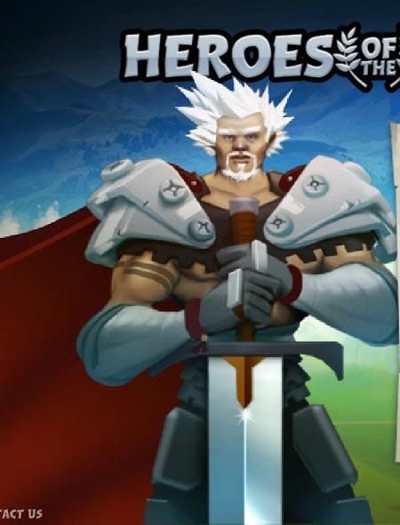 بازی آنلاین باکیفیت  قهرمان شمشیر زن heroes of the sword