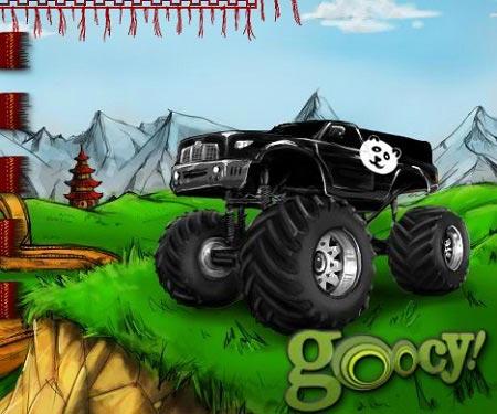 بازی ماشین های بزرگ: کامیون هیولای چین monster truck china