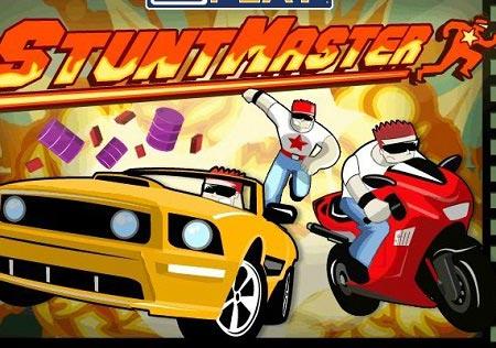بازی استاد حرکات نمایشی با موتور stunt master