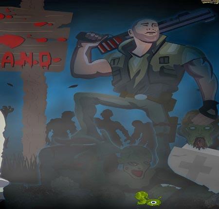 بازی سرزمین زامبی های zombies island