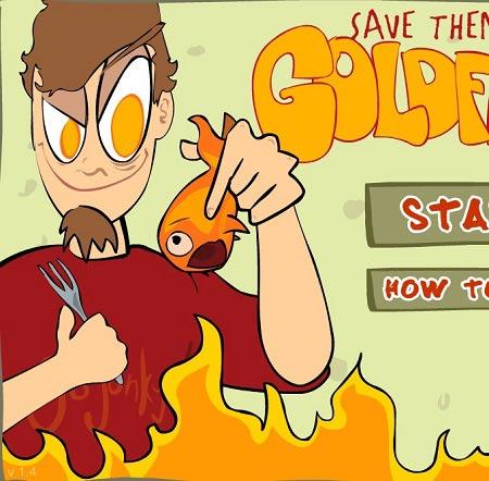 بازی حیوانات: نجات ماهی های قرمز save them goldfish