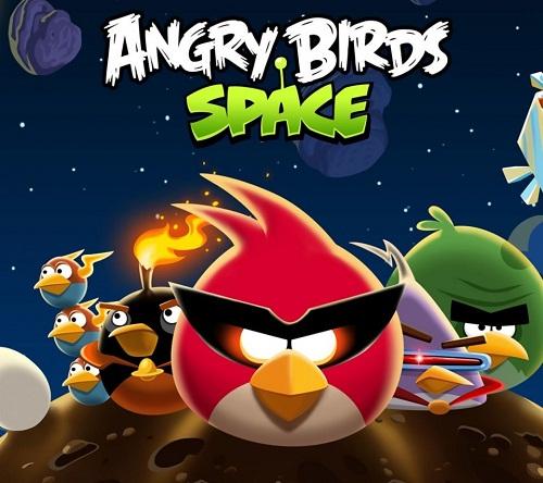دانلود کرک بازی پرندگان خشمگین angry birds space انگری بردز در فضا