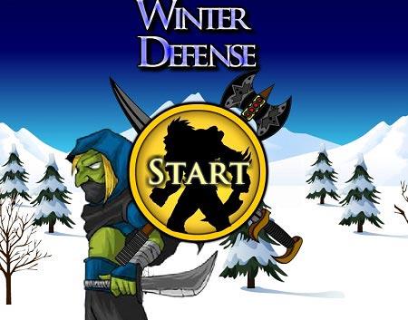 دانلود بازی آنلاین TD دفاع از قلعه قبیله در زمستان clan wars 2 winter defense