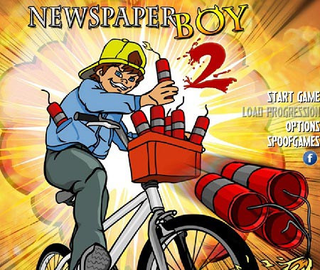 دانلود بازی آنلاین پسر روزنامه رسان 2 newspaper boy