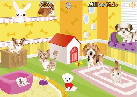دانلود بازی کودکان آنلاین طراحی لباس حیوانات