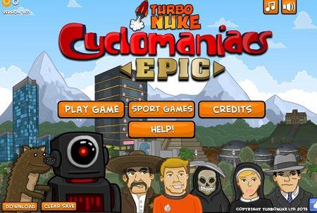 دانلود بازی سرگرم کننده دوچرخه سواری در طبیعت cyclomaniacs epic