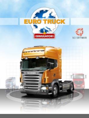 دانلود کرک بازی euro truck simulator شبیه ساز رانندگی با کامیون