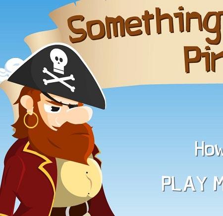 دانلود بازی سرگرم کننده آنلاین هدفگیری ناخدای دریاها something pirates