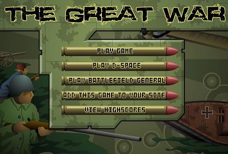 دانلود بازی آنلاین دفاع از قلعه جنگ بزرگ the great war