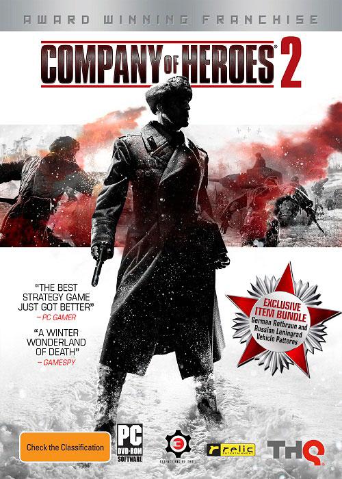 دانلود کرک بازی کمپانی قهرمانان company of heroes 2